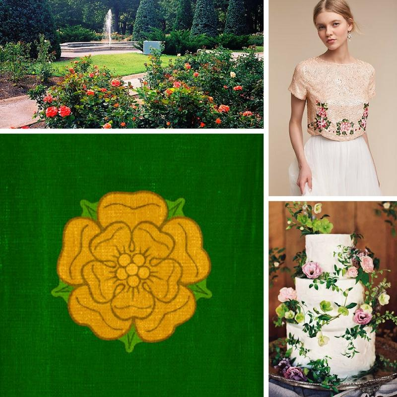 woodland chapel wedding venue dear head emblem shear mauve dress with flowers white wedding cake with dear antlers